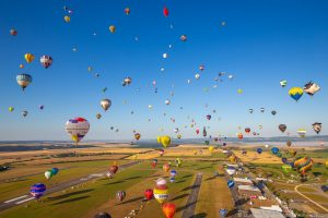 21 Photos from Europe's Largest Hot Air Balloon Event!