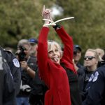 Jane Fonda Promises Her Red Coat is the Last Piece of Clothing She'll Ever Buy Again