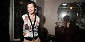 How Tim Walker Convinced Harry Styles to Pose Naked