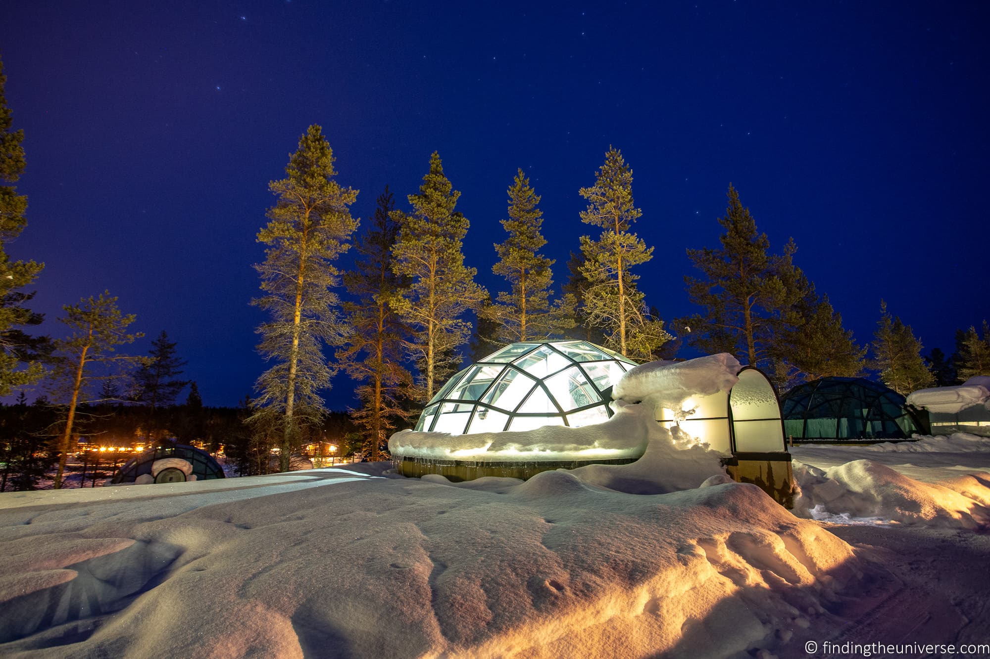 The Ultimate 7 Day Finnish Lapland Itinerary for Winter + Map and Tips